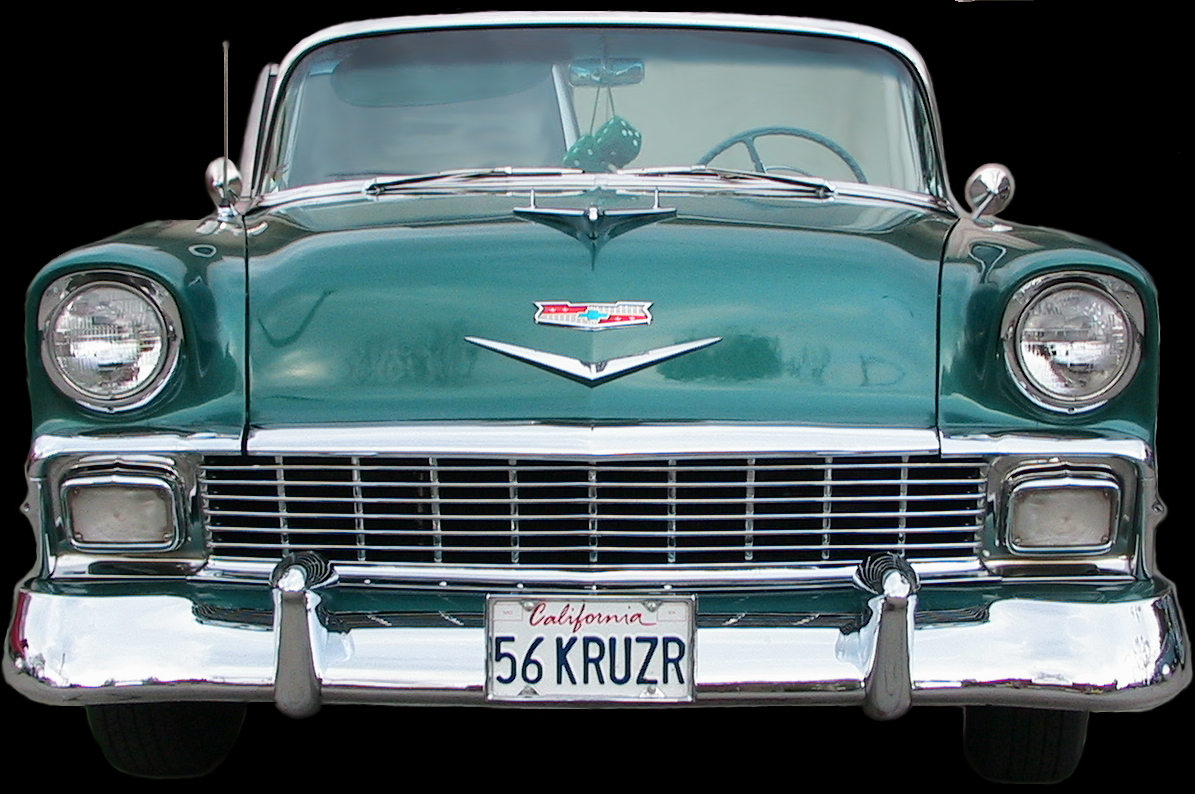 Living Stingy: Which Tri-Five Chevy are you?